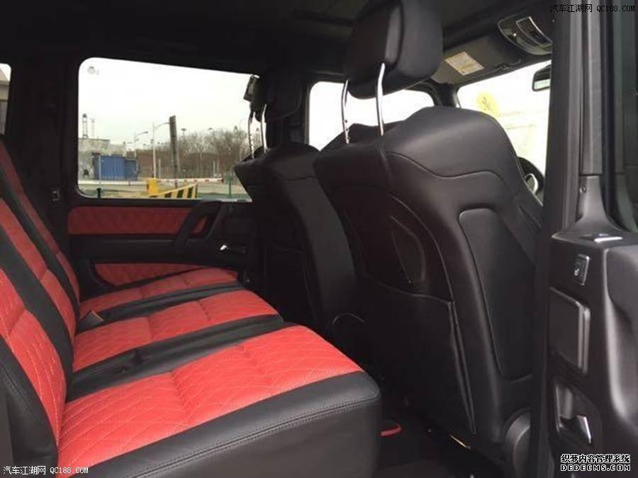 18款加版奔驰G63AMG现车配置参数解析