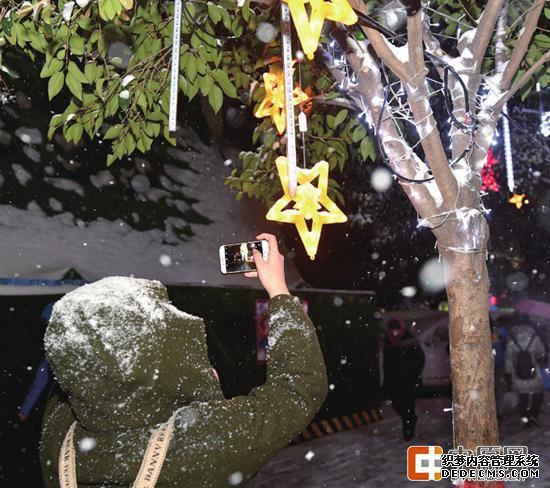 郑州降雪今日中午停烈焰变态sf止 下周一或再迎雨雪 小心出行