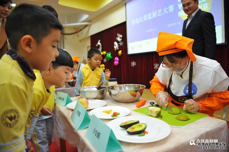 幼儿园里有大厨!20位幼儿园大厨同台竞技大秀厨艺