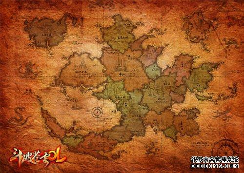 《斗破苍穹OL》还有更多地图正在开发中