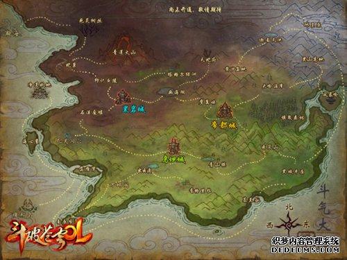 即将与玩家见面的一块大陆